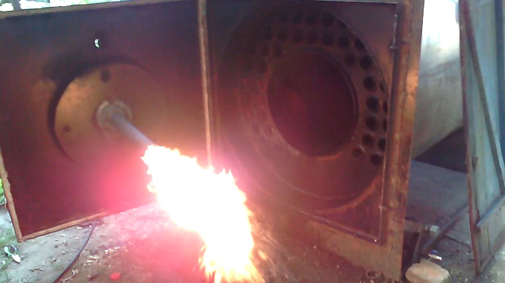 Турбина на твердотопливный котел своими руками