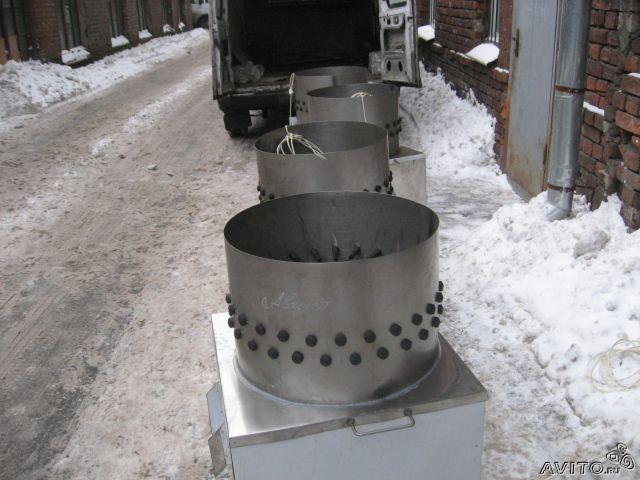 Изготовление перосъемной машины своими руками