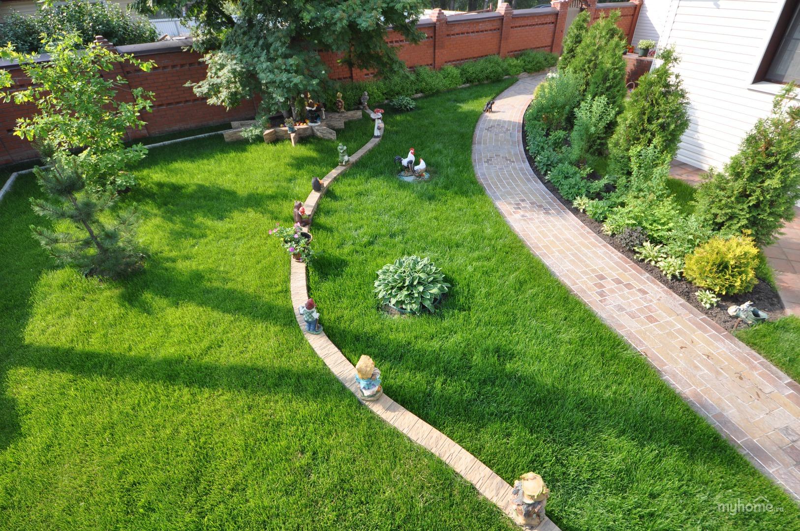 Ландшафтный дизайн озеленение газон нормативы