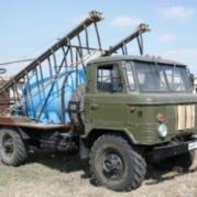 Самоходный опрыскиватель на базе ГАЗ-66