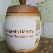 мёд в бочонке 1000 грамм