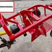 Картофелекопалка для японских мини-тракторов
