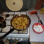 вкусная сковородка