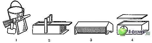 Ручной инвентарь и оборудование, которые применяются при содержании кроликов