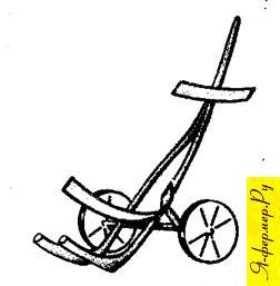 Самодельный прицеп к велосипеду для перевозки груза и кормов на ферме