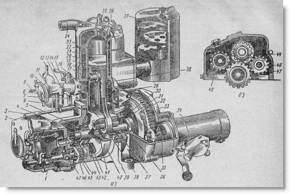 пусковой двигатель ПД-10М2 для