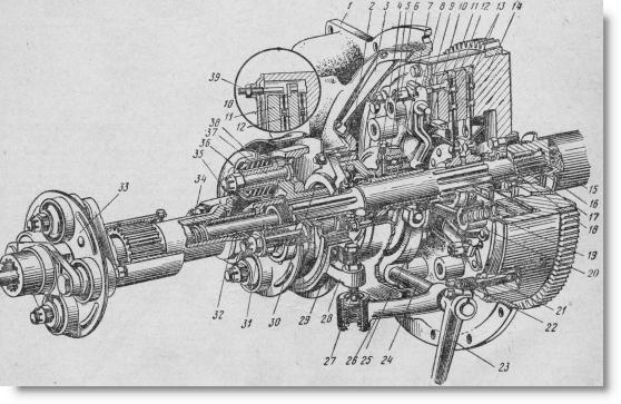 муфта сцепления трактора ДТ-75