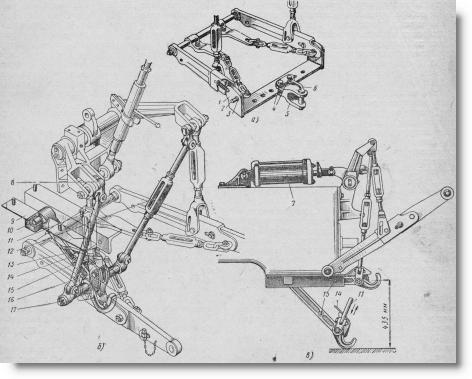 прицепное устройство тракторов