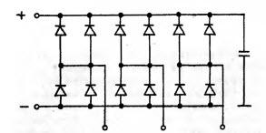 Электрическая схема соединений блока БПВ7-100