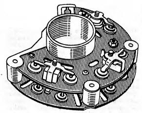 Общий вид блока БПВ7-100 ца кремниевых вентилях ВА20