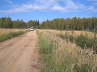 Новая дорога в сторону деревни Зеленцино.