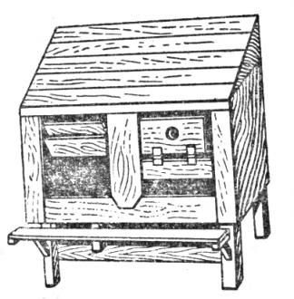 Гнезда для кладки яиц, рисунок