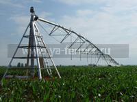 Автоматические системы полива в сельском хозяйстве, спринклерные системы полива, капельные системы полива