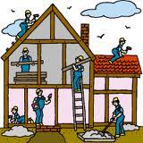 Строительство в сельской местности. Строительство сельского дома и дорог