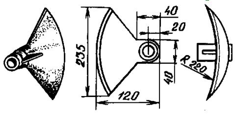 Как сделать мотыгу с кривым вогнутым лезвием