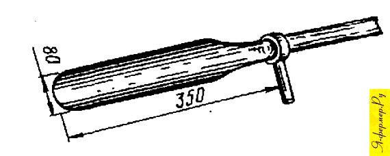 Такой лопаткой можно пользоваться для выкапывания длинных корней