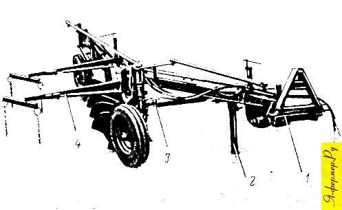 Плуг ПЛ-5-35 рисунок