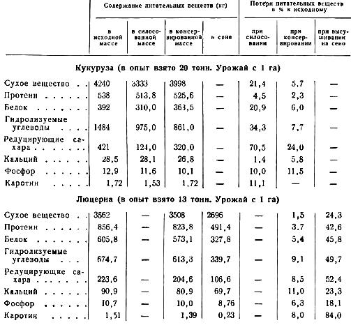 Химический анализ силосованных и консервированных кормов для лошадей