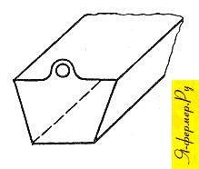 Один из видов подвески корытца на солнечной воскотопке