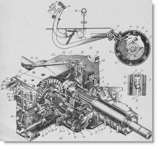 Разборка и ремонт тормоза трактора МТЗ-80, МТЗ-82 своими.