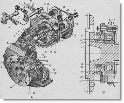 конечная передача трактора Т-40