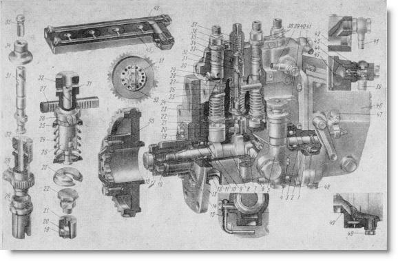 топливный насос типа УТН-5