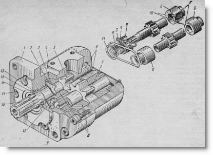 гидравлический насос трактора