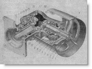 приводной шкив трактора МТЗ-50 (МТЗ-52)