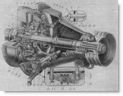 муфта сцепления двигателя СМД-15К на комбайнах