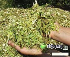 Приготовление силоса для сельскохозяйственных животных