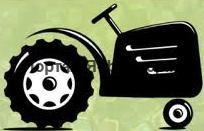 трактор, рисунок