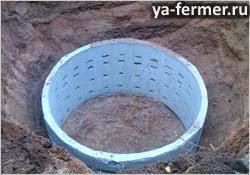 Постройка выгребной ямы своими руками