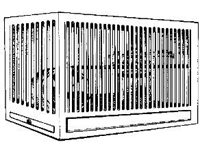 Клетка с беговым колесом и гнездом для бурундуков рисунок
