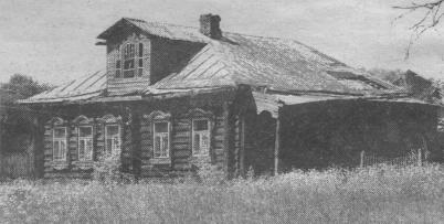 Один из самых старых домов в Пересекино