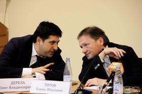 Борис Титов и Олег Дереза