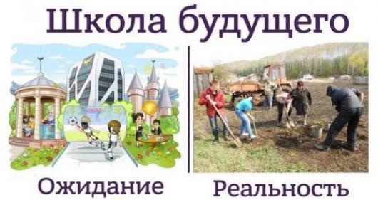 Школа будущего, ожидание и реальность.