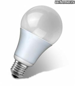 Светодиодная лампа – самый экономичный источник света.