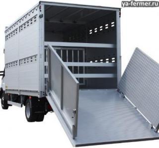 Перевозка животных автотранспортом