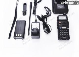 Электроника для фермеров и владельцев ЛПХ. Портативная двухдиапазонная радиостанция с хорошими характеристиками и качеством исполнения.