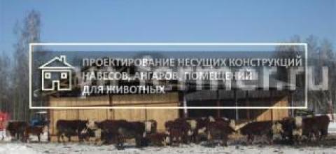 Ангар, навес, зерносклад — проект