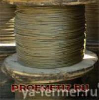Канат ГОСТ 2688-80 для крана, кран-балки, талей, лебедок ф 4,1-56,0 мм. от 100 п.м.