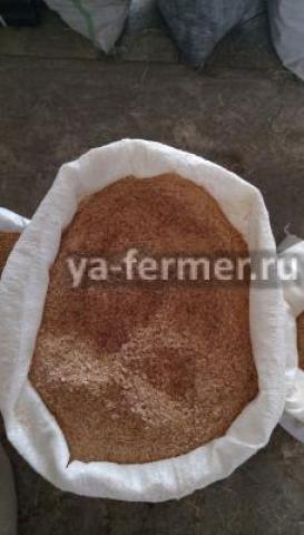 Отруби пшеничные свежие для корма животным в Запорожской области
