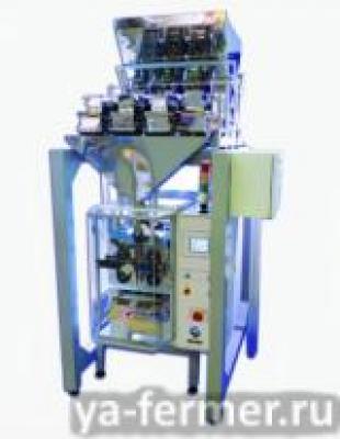 Автомат фасовочно упаковочный Мегант-Стандарт-ВД с линейным весовым дозатором