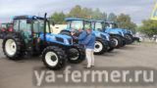 Специализированные тракторы New Holland T4F/N/V для российских фермеров
