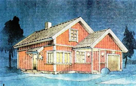 Проект дом для средней семьи