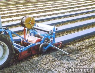 Пленкоукладчики предназначены для мульчирования почвы пленкой или укрывным материалом