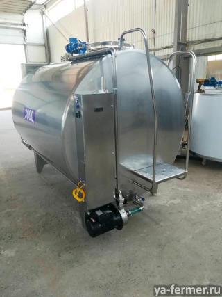 Охладитель молока закрытого типа 3000 л