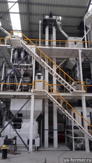 Производство оборудования для комбикормовых заводов
