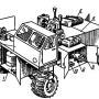 Комбинированный передвижной агрегат для ремонта и обслуживания тракторов, зерноуборочных комбайнов и другой сельскохозяйственной техники