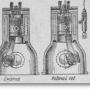 Рабочий цикл четырёхтактного дизельного двигателя